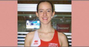 Elena Santolini con la maglia della Libertas Atletica