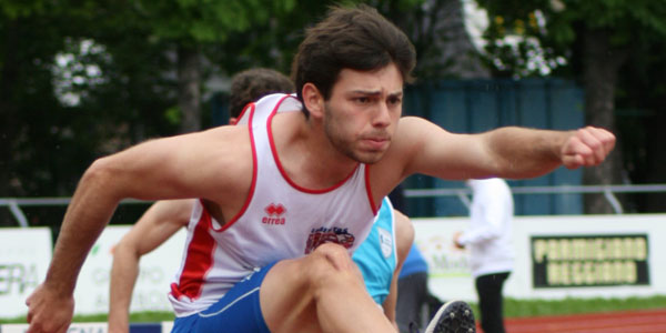 Francesco Amici campione regionale di decathlon Junior