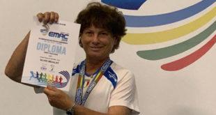 Giuliana Amici Argento agli Europei Master 2019
